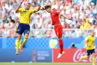 İsveç-İngiltere maçından yansıyan kareler
