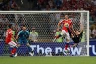 Rusya - Hırvatistan maçından yansıyan kareler