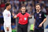 Hırvatistan - İngiltere maçından yansıyan kareler