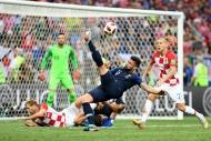 Fransa - Hırvatistan maçından yansıyan kareler