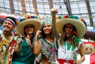 Dünya Kupası'ndan ilginç taraftar manzaraları