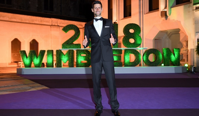 Wimbledon'da zafer Djokovic'in
