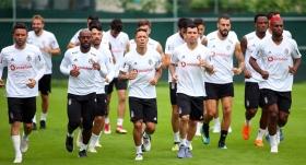 Beşiktaş, günü tek antrenmanla tamamladı