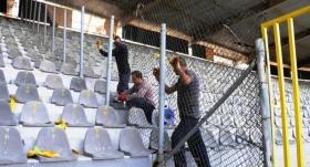 19 Mayıs Stadı'nın yıkımı başladı!