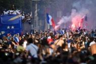 Dünya şampiyonu Fransa Milli Takımı evine döndü