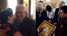 "Maradona'dan Abbas: ""Ben de Filistinliyim"""