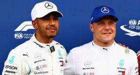 Hamilton'ın ardından Bottas da uzattı