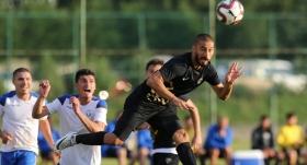 Osmanlıspor hazırlık maçında berabere