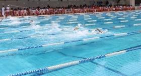 Yüzme Şampiyonası'nda Galatasaray, birinci oldu