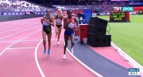 VİDEO | Etiyopyalı atletten ilginç hata! Bitti sandı...
