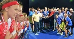 Hokey Şampiyonası'nda İsviçre ve Ukrayna güldü
