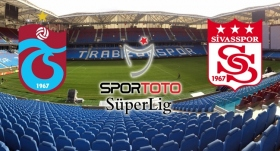 Trabzonspor'un konuğu Sivasspor