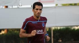 Trabzonsporlu futbolcunun mutlu günü