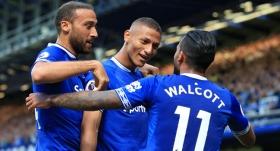 Everton, sezonun ilk galibiyetini aldı