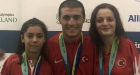 Avrupa Paralimpik Yüzme Şampiyonası'nda 3 madalya