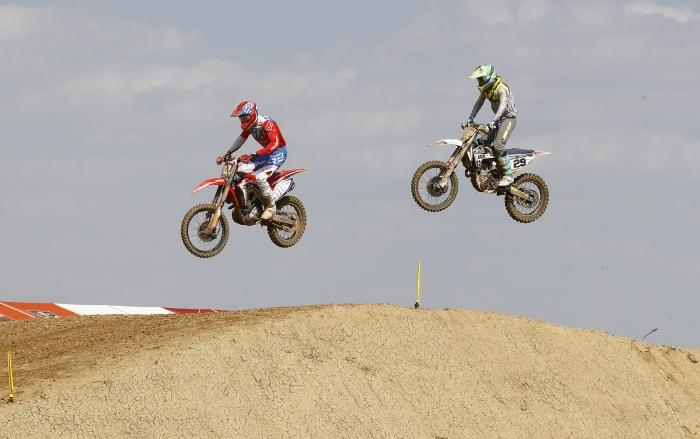 Dünya Motokros Şampiyonası`ndan yansıyan kareler
