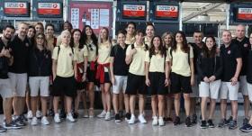 A Milli Kadın Basketbol Takımı, İspanya'ya gitti