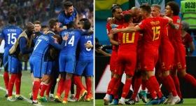 Belçika ve Fransa zirvede