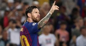 Devler Ligi'nde haftanın oyuncusu Messi