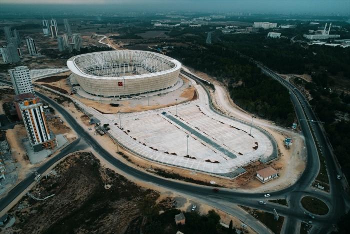 Yeni Adana Stadı`nda geri sayım