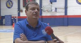 """Ataman: """"Hedeflerimden biri de NBA'de takım çalıştırmak"""""""