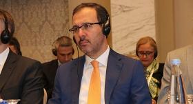 Kasapoğlu, Avrupa Spor Bakanları Toplantısı'na katıldı
