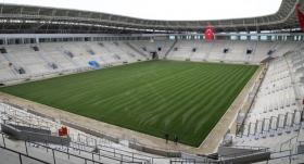 Yeni Ordu Stadı'nda çim serme işlemi bitti