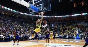Fenerbahçe, THY Avrupa Ligi'nde 2'de 2 yaptı