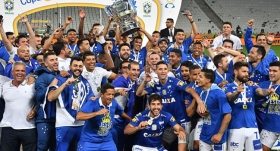 Brezilya Kupası Cruzeiro'nun