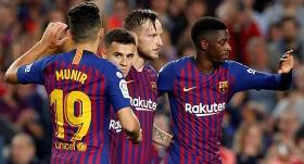 Sevilla'yı yıkan Barcelona yeniden lider