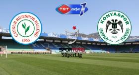 Çaykur Rizespor - A. Konyaspor