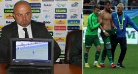 Rizespor, Uğur Demirok'u TFF'ye şikayet etti
