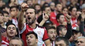 2.Lig maçında rekor taraftar sayısı