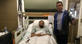 Ali Koç ve Semih Özsoy'dan Ennis'e ziyaret