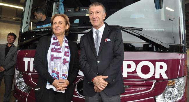 Trabzonspora Yeni Takım Otobüsü Trt Spor Türkiyenin Güncel
