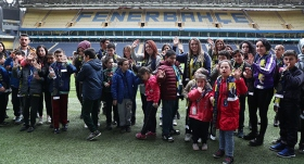 Fenerbahçe otizmli ve down sendromlu öğrencileri ağırladı