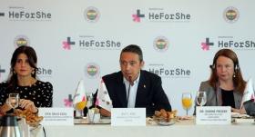 """Fenerbahçe'de """"HeForShe"""" projesi tanıtıldı"""