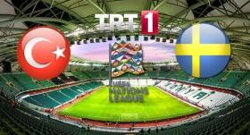 Türkiye - İsveç maçı TRT1'de
