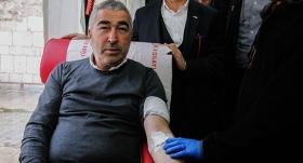 Bursaspor, kan bağışına destek oldu
