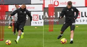 Beşiktaş'ta MKE Ankaragücü mesaisi