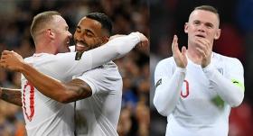 Rooney'nin veda maçında İngiltere'den ABD'ye fark