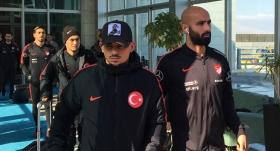 A Milli Futbol Takımı Konya'da