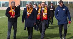 Özhaseki'den Kayserispor'a ziyaret