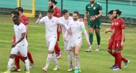 Antalyaspor, Afganistan'ı tek golle geçti