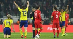 Milli Takımımız C Ligi'ne düşerken İsveç A Ligi için umutlandı