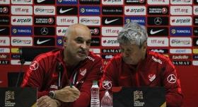 Lucescu'dan tek soruluk basın toplantısı!