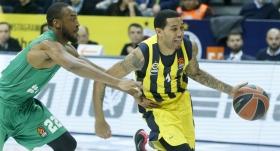 Türk derbisinde Fenerbahçe'nin 100'ü güldü