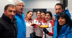 Kadın Curling Milli Takımı yarı finalde