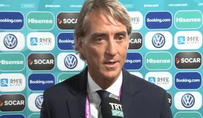 Roberto Mancini TRTSPOR'a konuştu: Türkiye Avrupa Şampiyonası'na gidecektir