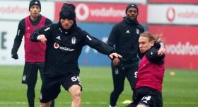 Beşiktaş'ta Malmö maçı hazırlıkları